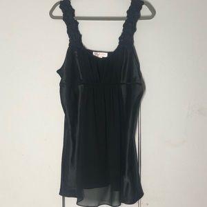 Oscar De La Renta Black Night Gown